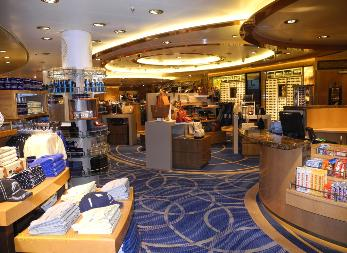 shops, Regal Princess cruise ship