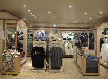 Cruise ship Sea Princess, shops