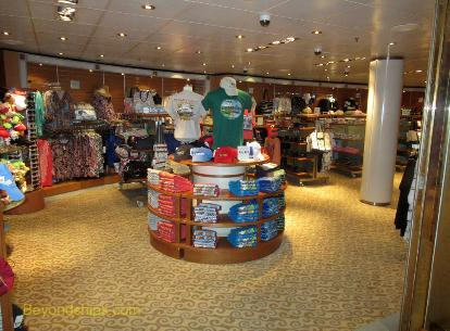 Coral Princess shops