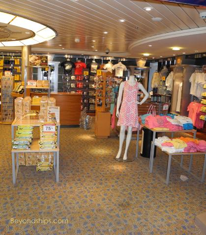 Liberty of the Seas shops
