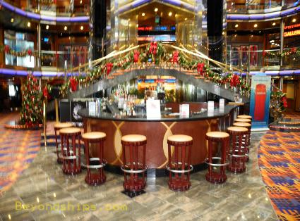 cruise ship Carnival Ecstasy Atrium Bar
