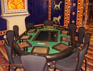 Cruise ship Carnival Freedom casino
