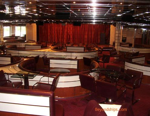 Cruise ship Carnival Freedom comedy club