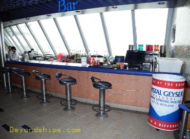 cruise ship Carnival Ecstasy Panorama Bar