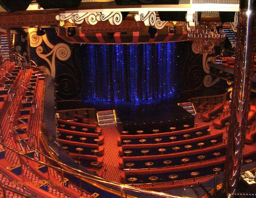 Cruise ship Carnival Freedom theater