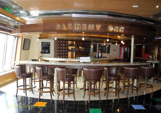 Cruise ship Carnival Glory Alchemy Bar