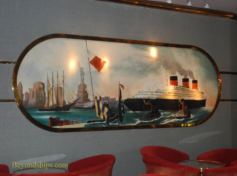 Legend of the Seas, cruise ship, Normandie mural