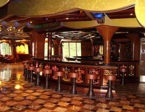 Cruise ship Carnival Freedom bar