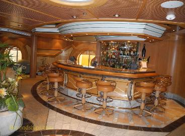 Champagne Bar on Independence of the Seas cruise ship