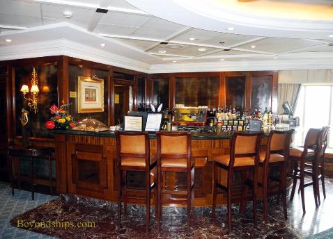 Ocean Princess cruise ship bar