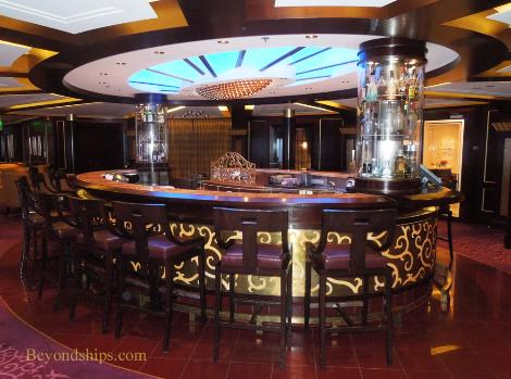 Cruise ship Celebrity Eclipse, Ensemble Lounge
