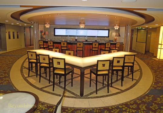 Cruise ship Celebrity Eclipse, Molecular Bar