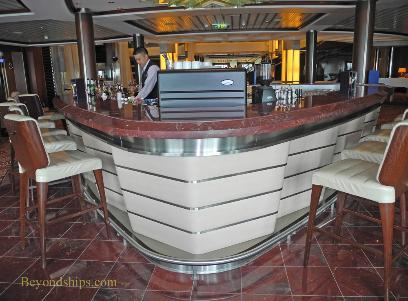 Cruise ship Celebrity Eclipse, passport bar