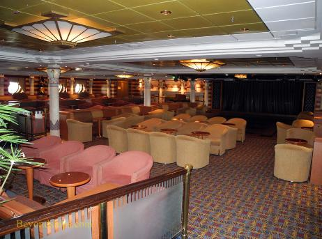 Independence of the Seas cruise ship, Pyramid Lounge