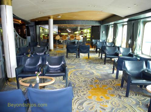 Westerdam cruise ship bar