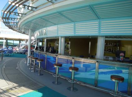 Brilliance of the Seas Pool Bar