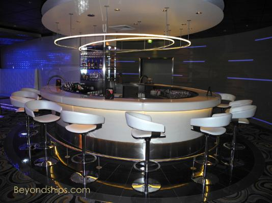 Sky observation lounge celebrity silhouette