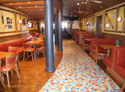 Carnival Breeze cruise ship bars