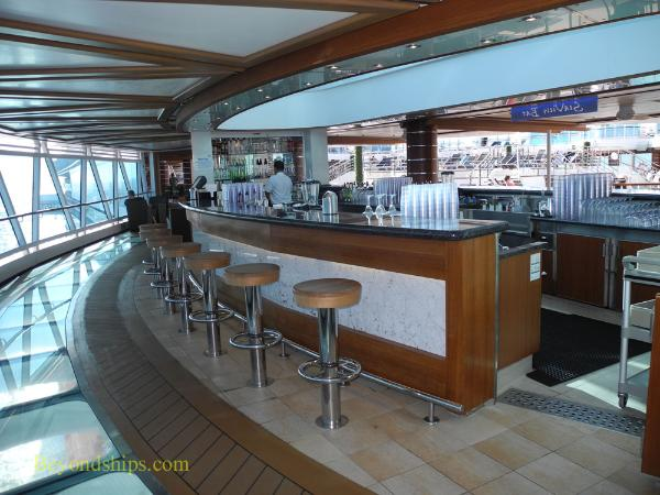 Royal Princess cruise ship, Seaview Bar