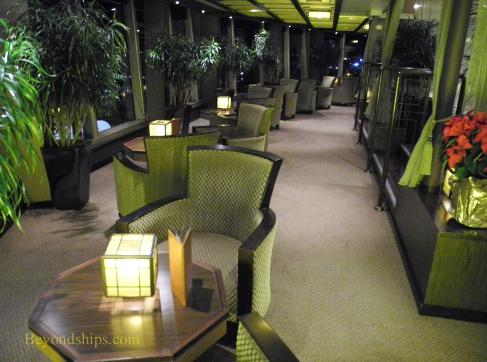 Holland America cruise ship Eurodam interior
