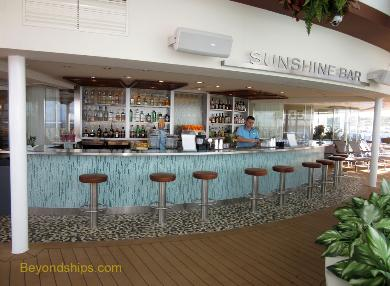 Quantum of the Seas Sunshine Bar