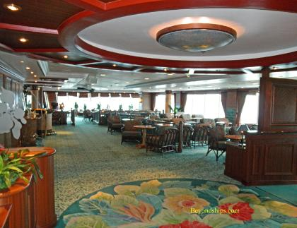 Ocean Princess cruise ship entertainment
