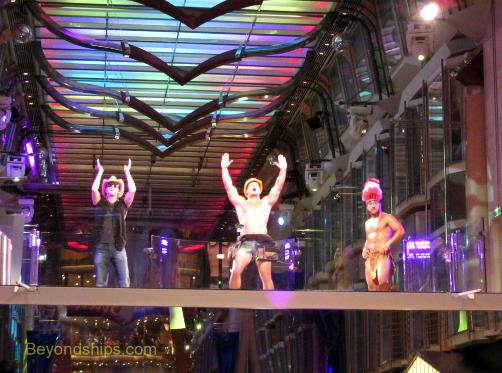 Liberty of the Seas entertainment