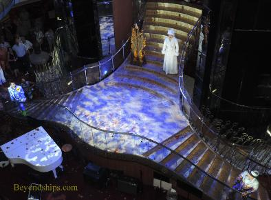 Show on Legend of the Seas, cruise ship,