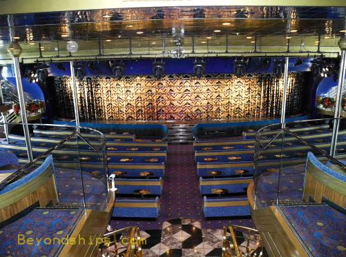 cruise ship Carnival Ecstasy theater