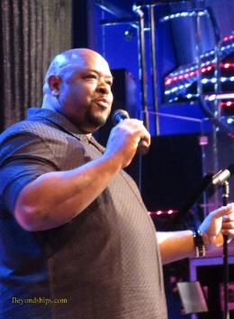 Comedian Thomas Brown on Carnival Splendor