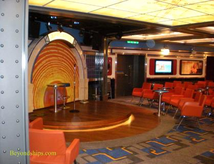 Oasis of the Seas comedy club