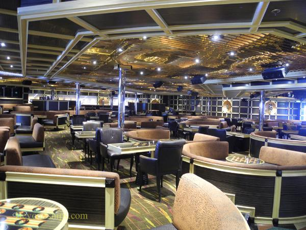 Cruise ship Carnival Glory Ebony Lounge