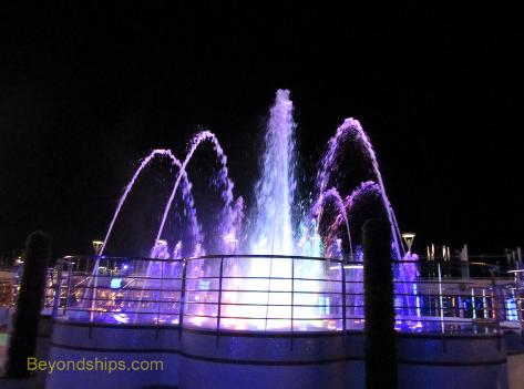 Royal Princess fountain