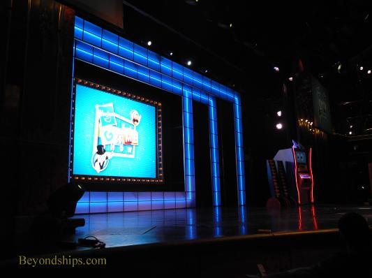 Cruise ship Carnival Glory Hasbro the Game Show
