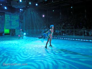 Independence of the Seas ice show