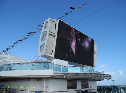 Royal Princess cruise ship, Movies Under The Stars