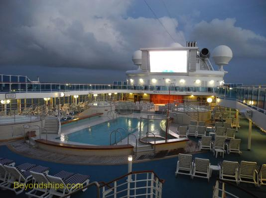 Movies Under the Stars on Coral Princess