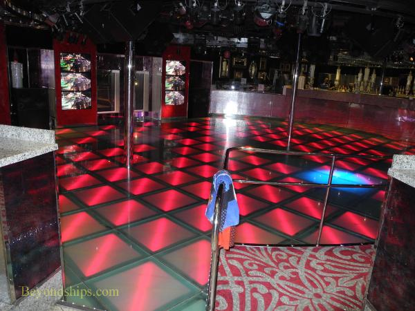 Cruise ship Carnival Glory nightclub