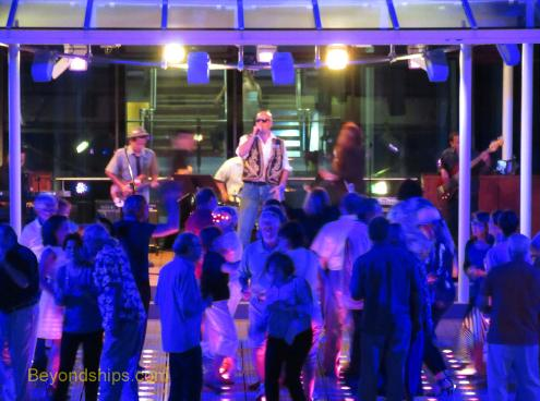 Celebrity Equinox entertainment deck party