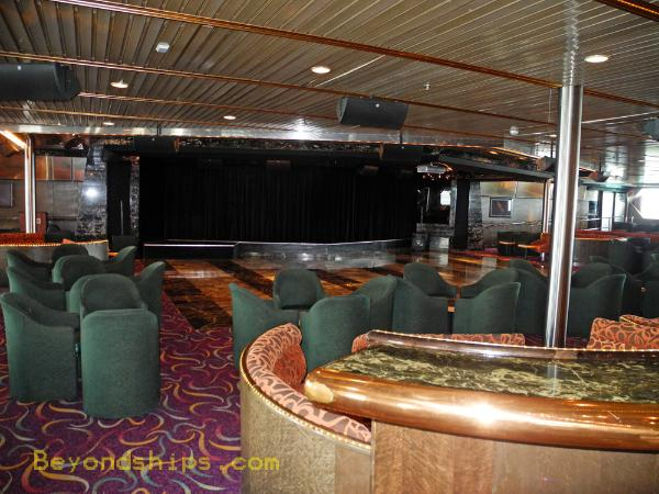 cruise ship Carnival Ecstasy comedy club