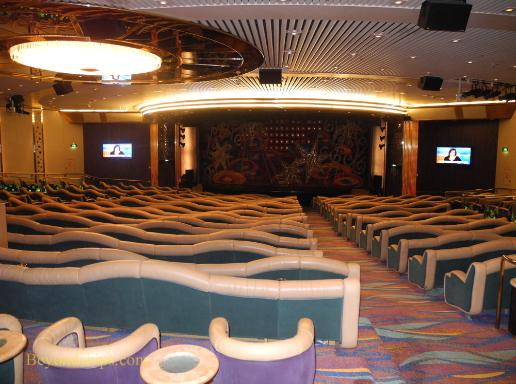 Legend of the Seas, cruise ship, theater