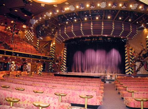Carnival Liberty theater