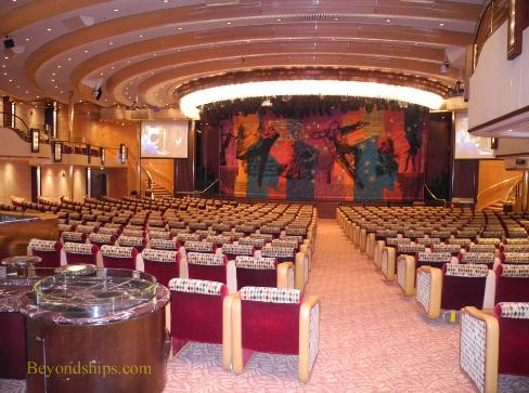 Grandeur of the Seas theater