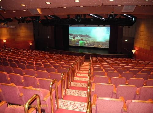 Coral Princess theater