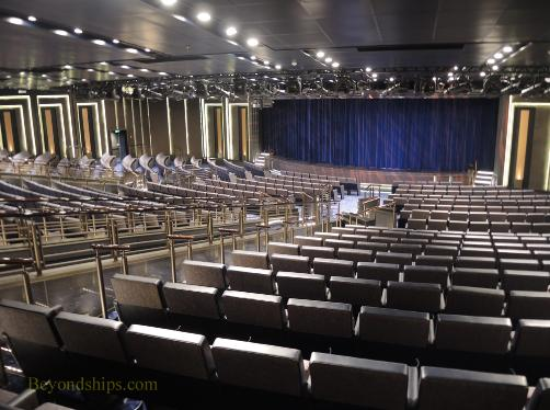 Britannia cruise ship, theater