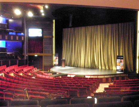 Cruise ship Celebrity Eclipse, theater