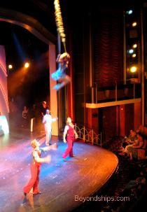 Independence of the Seas theater show