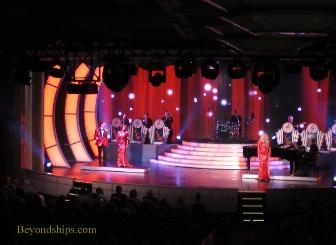 productions show, cruise ship Regal Princess