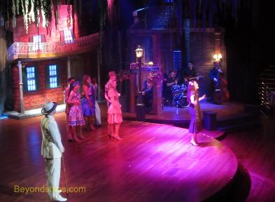 Coral Princess Universe Lounge production show