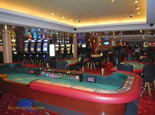 Legend of the Seas, cruise ship, casino